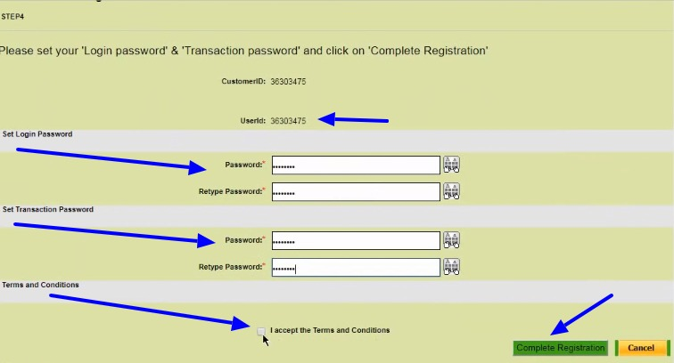OBC Net Banking Online – How To Register & Activate Account? 6