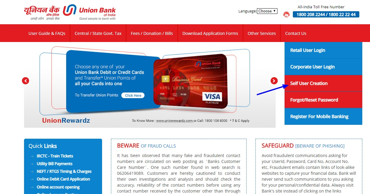 UBI Net Banking Online – How To Register & Activate Account? 24