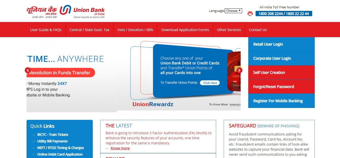 UBI Net Banking Online – How To Register & Activate Account? 23