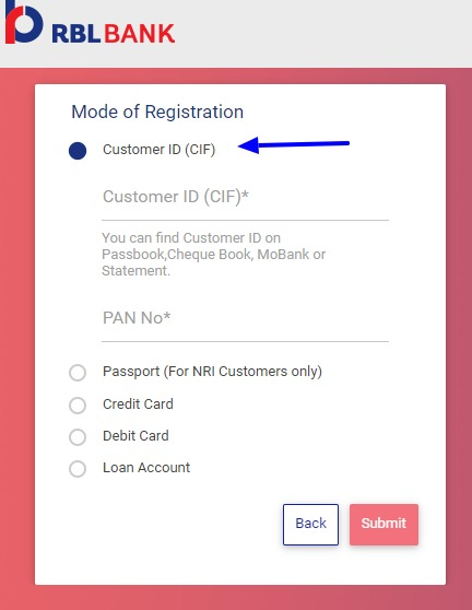 RBL Net Banking Online – How To Register & Activate Account? – Ratnakar Bank Limited 4