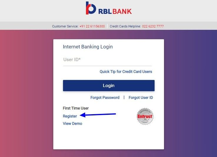 RBL Net Banking Online – How To Register & Activate Account? – Ratnakar Bank Limited 2