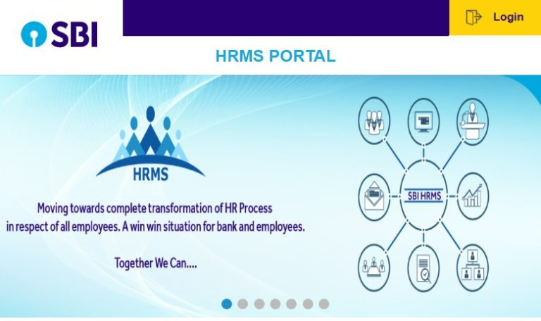 SBI HRMS – How To Register & Activate Account? 1