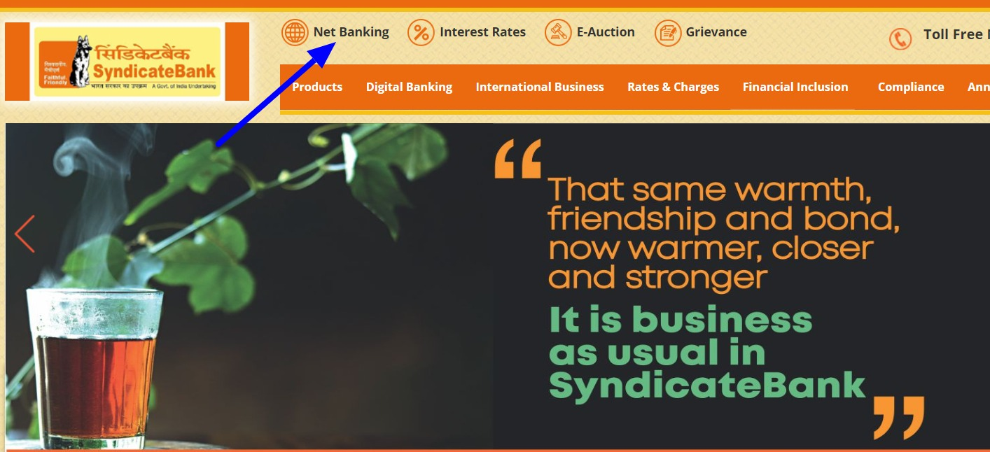 Syndicate Bank Net Banking Online – How To Register & Activate Account? – Syndicate Bank 2
