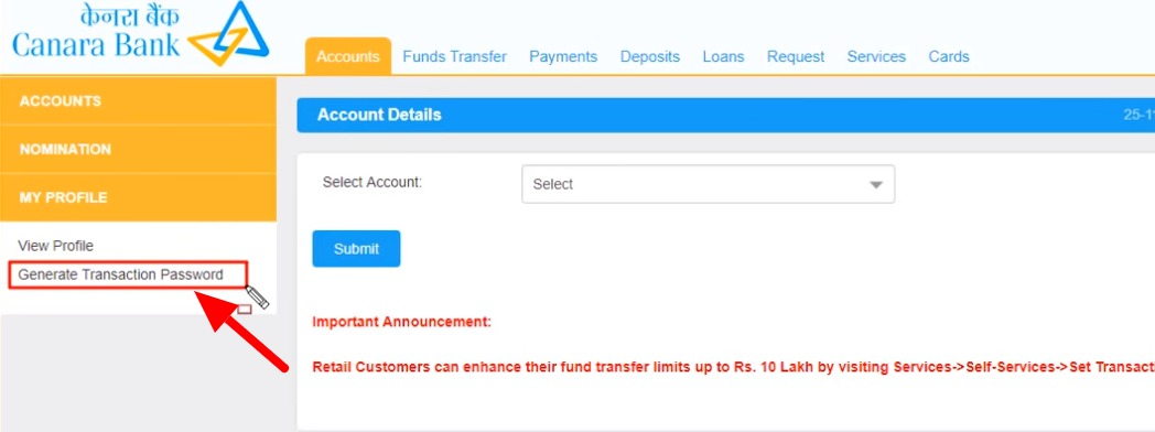 Canara Bank Net Banking : How To Register, Activate & More 26