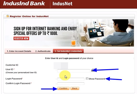 Indusind Bank Net Banking Online - How To Register & Activate Account? 16