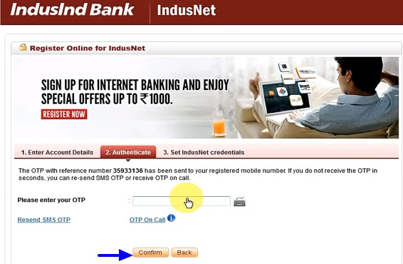 Indusind Bank Net Banking Online - How To Register & Activate Account? 15