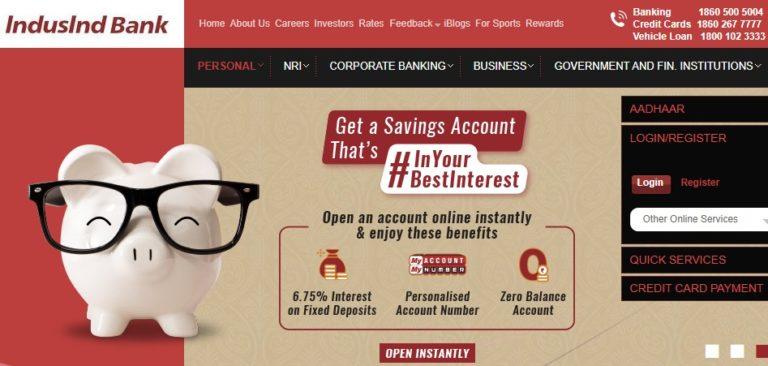 Indusind Bank Net Banking Online - How To Register & Activate Account? 37