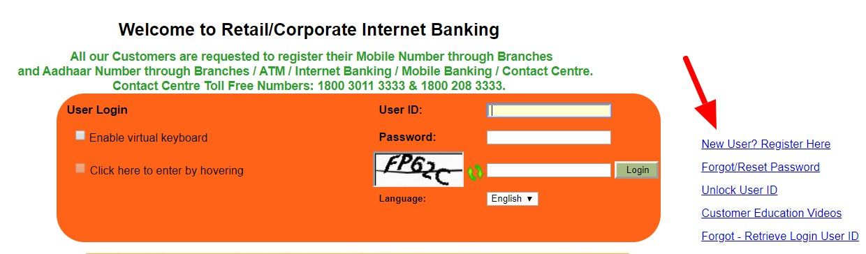 Syndicate Bank Net Banking Online – How To Register & Activate Account? – Syndicate Bank 3