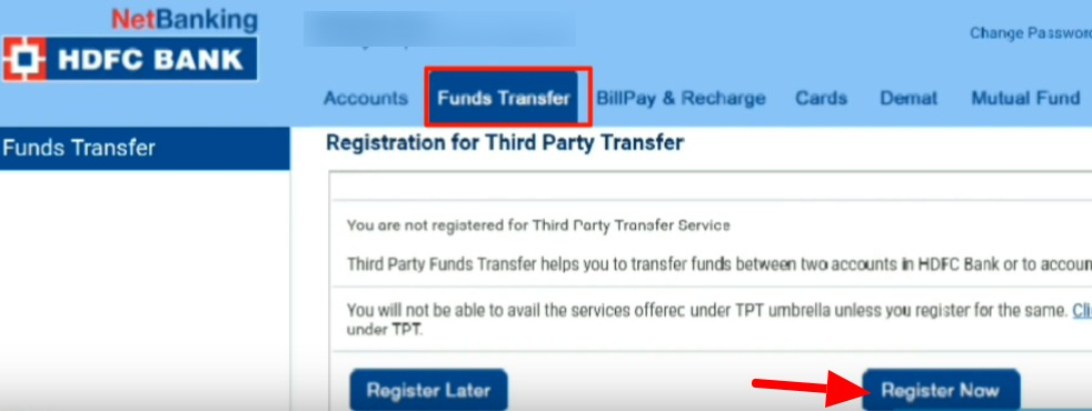 HDFC Bank Net Banking Online – How To Register & Activate Account? 5