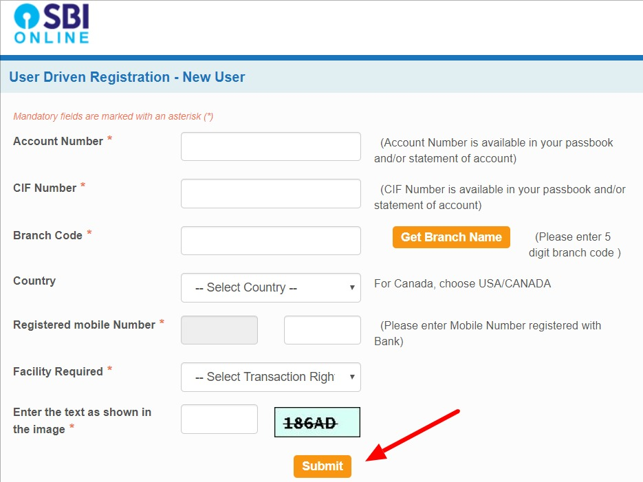 SBI Net Banking Online – How To Register & Activate Account? 4