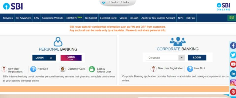 SBI Net Banking Online – How To Register & Activate Account? 33