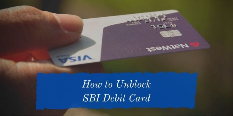 How to Unblock SBI Debit Card - [Using All Methods + Full Guide] 16