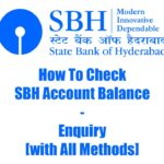 How To Check SBH Account Balance - Enquiry [with All Methods] 2