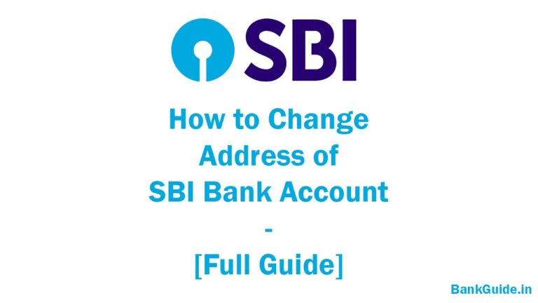 How to Change Address of SBI Bank Account - [Full Guide] 1