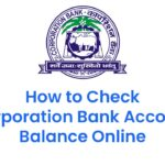 How to Check Corporation Bank Account Balance Online 5