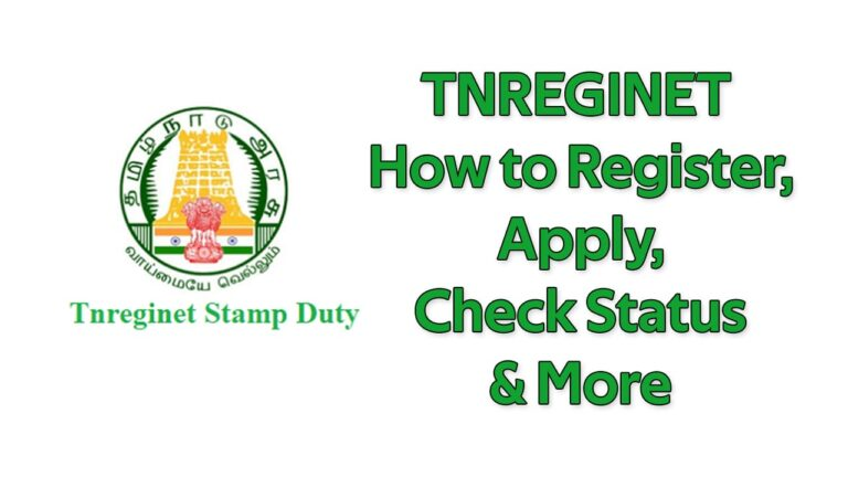 TNREGINET How to Register, Apply, Check Status & More