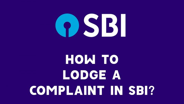 How to Lodge a Complaint in SBI
