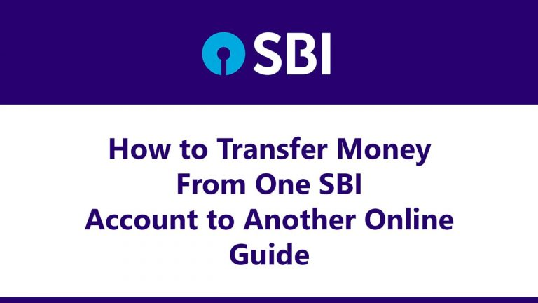 How to Transfer Money From One SBI Account to Another Online : Guide 6