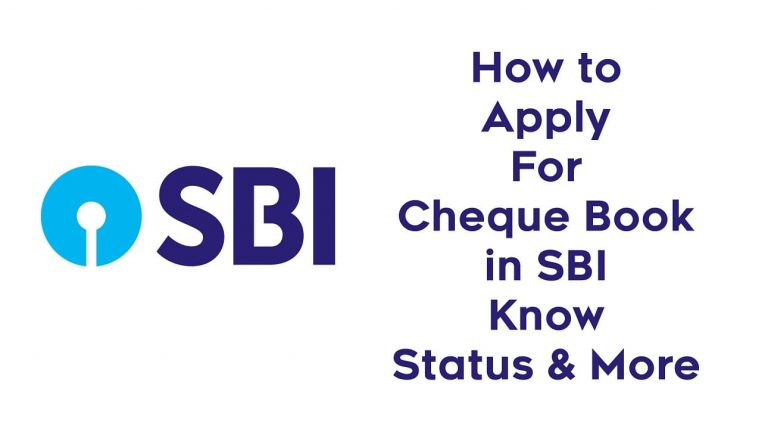 How to Apply For Cheque Book in SBI : Know Status & More 1