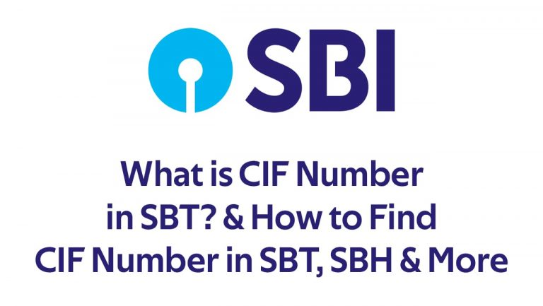 What is CIF Number in SBT? & How to Find CIF Number in SBT, SBH & More 4