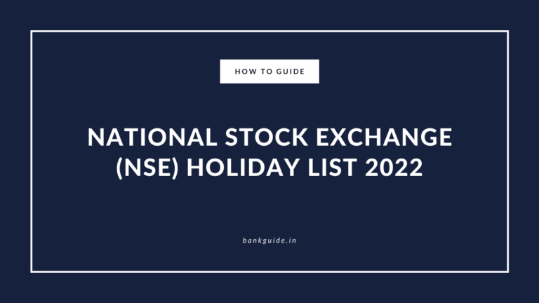 List of National Stock Exchange India Holidays 2022 6
