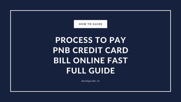 PNB credit card payment online