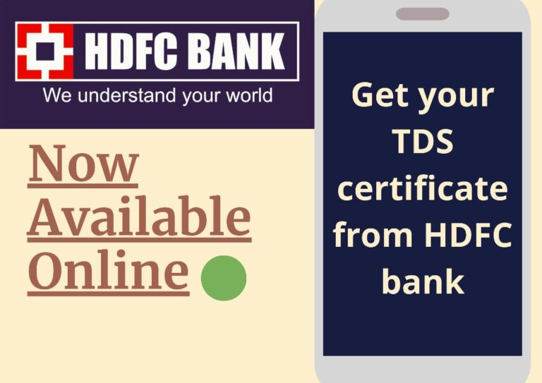 How to Get Your TDS Certificate From HDFC Bank - Guide 5