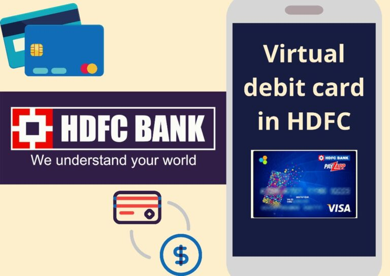 How to Obtain Virtual Debit Card in HDFC Bank Online? - Guide 4