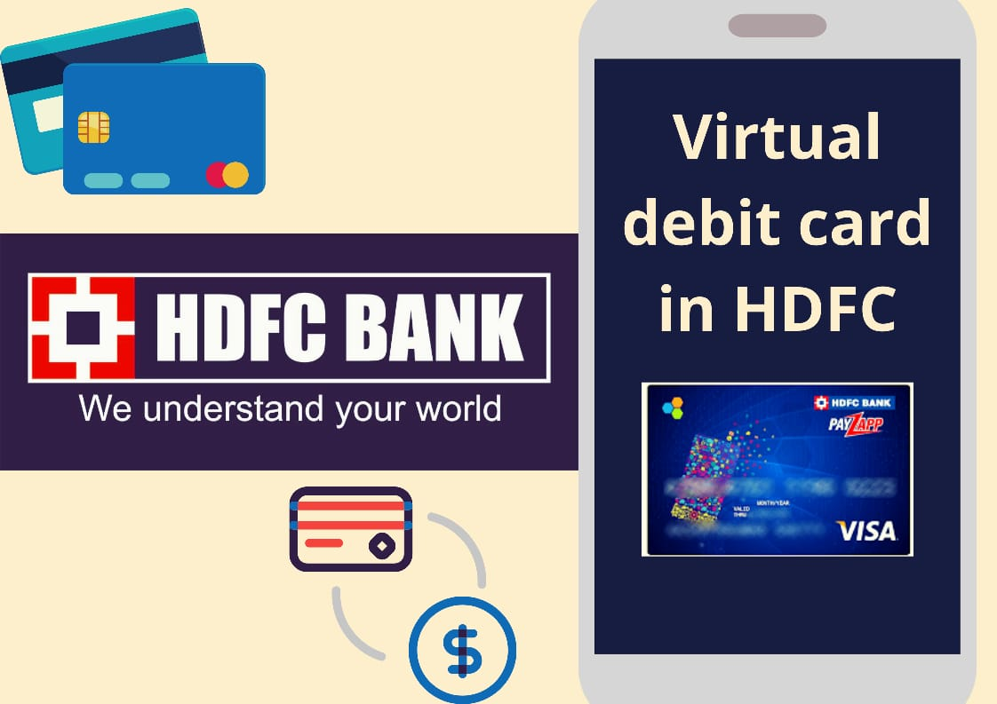 How to Obtain Virtual Debit Card in HDFC Bank Online? - Guide 1