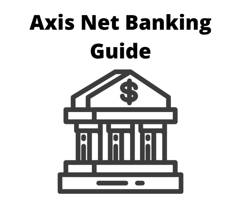 Axis Net banking guide
